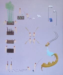 Akira Ikezoe, 'Coconut Heads and Bamboos', 2019
