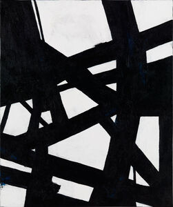 Nicole Yates, 'Black and White Abstract 2'
