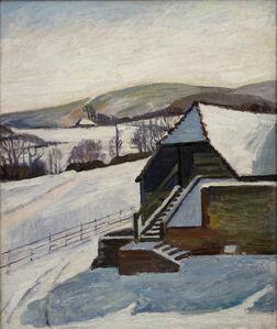 Vanessa Bell, 'The Barn, Charleston, in Winter', ca. 1940