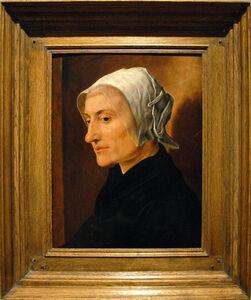 Maerten van Heemskerck, 'Portret van een oudere vrouw (Portrait of an Elderly Woman)', c. 1530