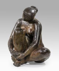 Antoniucci Volti, 'Worried woman', ca. 1960