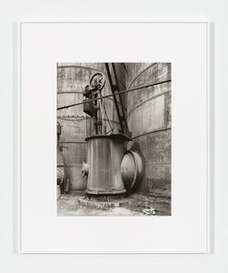 Bernd and Hilla Becher, 'Detail Blast Furnace, La Louvière', 1985