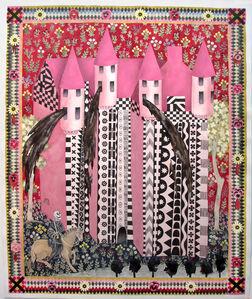 Keri Oldham, 'Pink Castle ', ca. 2018