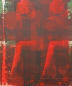 Andreas Reimann, 'Marlene Red Leg 1 #888', 2016