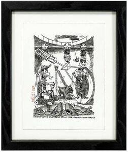 Gary Panter, 'WELCOME TO BUGATANGA, Drawing', 2000-2009