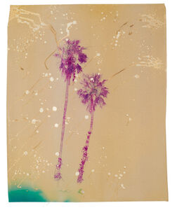 Andrew K. Thompson, 'Acid Pink Palm Trees', 2016