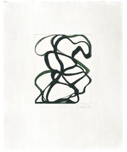 Brice Marden, 'The Fungoid Rock', 1996-1997