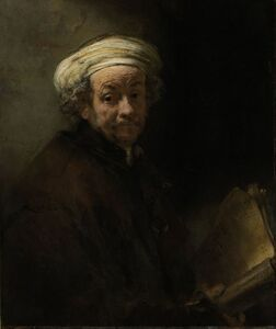 Rembrandt van Rijn, 'Self-Portrait as the Apostle Paul', 1661