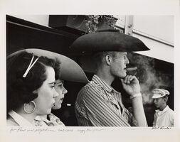 Robert Frank, 'RODEO DETROIT', 1955