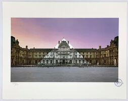 JR, 'Le Louvre revu par JR, 19 juin 2016, 5h41 © Pyramide, architecte I.M. Pei, musée du Louvre, Paris, France', 2019