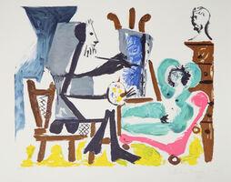 Pablo Picasso, 'Le Peintre et son Modele, 1962', 1979-1982