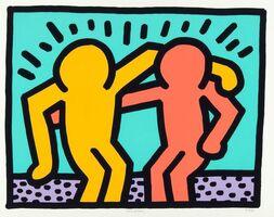 Keith Haring, 'Best Buddies', ca. 1990