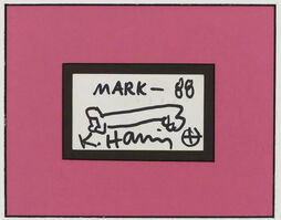 Keith Haring, 'Baby For mark', 1988