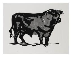 Roy Lichtenstein, 'Bull Profile Series', 1973