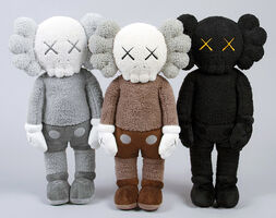 KAWS, 'KAWS Plush Holiday Companions: complete set of 3', 2019