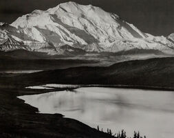 Ansel Adams, 'Mt. McKinley, Wonder Lake Denali National Park, Alaska', 1947