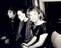 Andy Warhol, 'Andy Warhol, Photograph of Liza Minnelli, Martha Graham and Kathleen Turner', ca. 1985