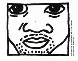 Keith Haring, 'Keith Haring Juan Dubose Area nightclub ', ca. 1983