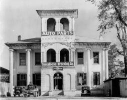 Walker Evans, 'Tuscaloosa Wrecking Company and Auto Parts, Alabama', 1936