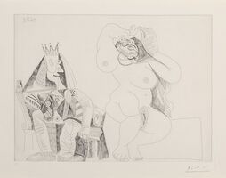 Pablo Picasso, 'Series 156:143', 1971