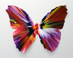 Damien Hirst, 'Butterfly Spin Painting', 2009