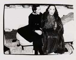Andy Warhol, 'Diana Vreeland and Martha Graham', 1980