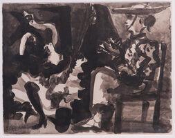 Pablo Picasso, 'Picador and dancer', 1960