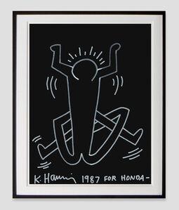 Keith Haring, 'For Honda', 1987