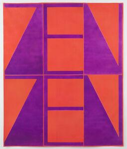 John Phillip Abbott, 'Orange-Violet ZenZen', 2018