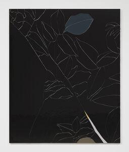 Gary Hume, 'Black Flower IV', 2015