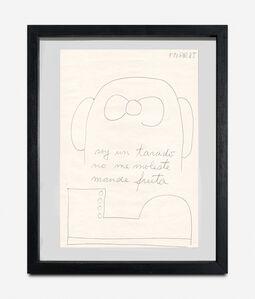 Federico Manuel Peralta Ramos, 'Soy una tarado no me moleste mande fruta', 1985
