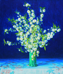 Hoon Chill Kwon, 'Still life - Flowers', 1995