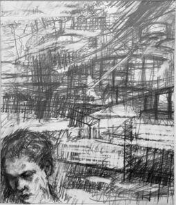 William Boyd Woods, 'Portrait of My Nephew (Tranquility)', 2018