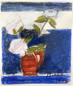 Janice Biala, 'Untitled (Peonies in Red Vase)', 1976