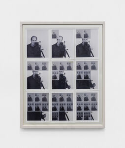 William Anastasi, '9 Photographs of a Mirror', 1967/2018