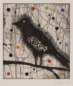Dan Rizzie, 'Harried Bird Dots', 2018