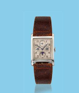 Audemars Piguet, 'White gold rectangular wristwatch', ca. 1930
