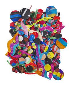 Howardena Pindell, 'Untitled #10J', 2011