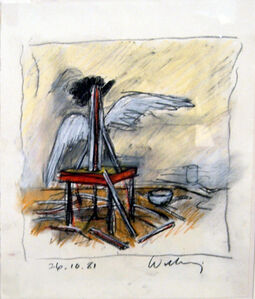 Victor Willing, '26.10.81', 1981