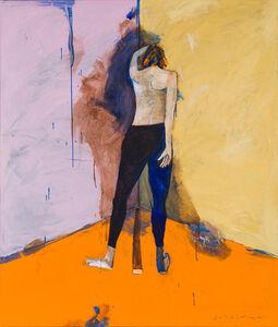 Fritz Scholder, 'Mystery Woman in Corner', 1991