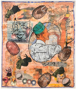 Jane Hammond, 'The Painter at Work', 1995