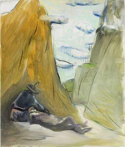 Siegfried Anzinger, 'Ohne Titel (Schlucht) ', 2009