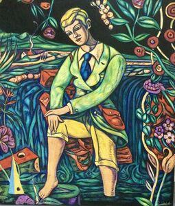 Adrian Wiszniewski, 'The Falls of Clyde 2', 2014