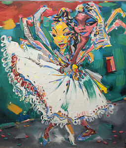 Workneh Bezu, 'Crystal Lady II', 2016
