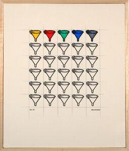Tino Stefanoni, 'Funnels 7', 1971