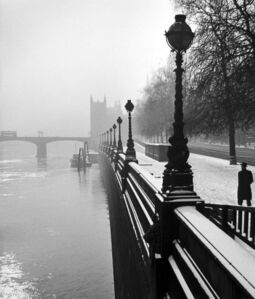 Wolfgang Suschitzky, 'Embankment, London', 1947