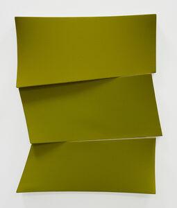Jan Maarten Voskuil, 'Broken yellow stack', 2019