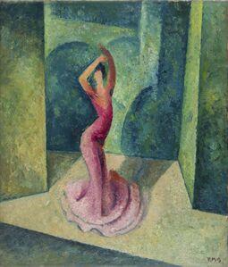 Roberto Marcello Baldessari, 'Ballerina spagnola', 1922