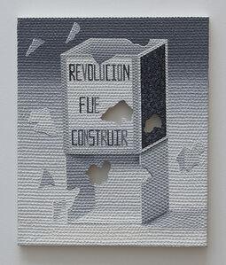 René Francisco, 'Revolution is construction', 2014