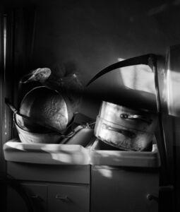 Regina DeLuise, 'Pots & Scythe, Spinoso, Italy', 2018